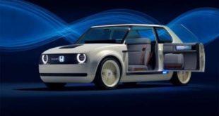 Honda Urban EV Concept: очаровательный сити-кар