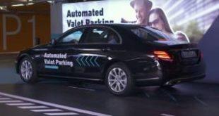 Daimler и Bosch создали паркинг для самоуправляемых автомобилей